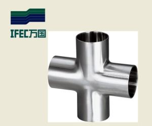 Sanitary Stainless Steel Weld Cross (IFEC-SC100001) pictures & photos