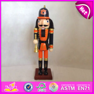 2015 Promotion Toy Wooden Nutcracker Toy, Cheap Wooden Promotion Gift Toy, Wooden Soldier Nutcracker Set Toy for Promotion W02A081 pictures & photos