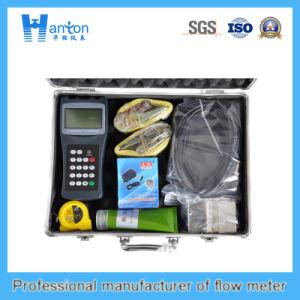 Handheld Ultrasonic Flowmeter (Flow meter) pictures & photos