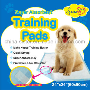 Super Absorbent Pet Puppy Dog Training Pads for Puppies and Adult Dogs pictures & photos