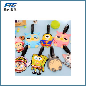 High Quality Personalized PVC Luggage Tag Promotion Gift pictures & photos
