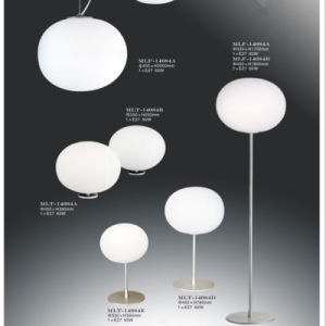 Hot Sales Opal Glass Shade Floor Lamp (245-T3) and Pendant Lighting pictures & photos