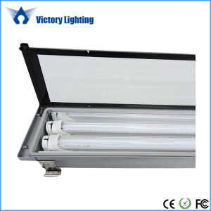 SMD2835 T8 Tube Fixture 2X18W IP65 LED Explosion-Proof Light pictures & photos