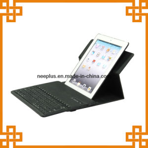 360 Degree Rotation Cover Case with Bluetooth Wireless Keyboard for iPad Mini/PC (BKB024)