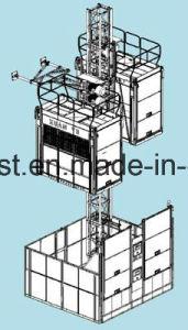 250m 0~96m/Min Speed Sc200/200 Construction Lift Hoist pictures & photos