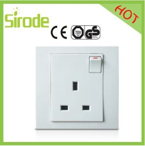 Hot Sales Double Pole+Neon 13A Switch Socket Outlet