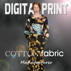 Reactive Printing Cotton Fabric (M015) pictures & photos