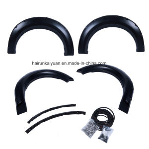 4PCS Pocket-Riveted Textured Fender Flare Fit 2009-2014 for Ford F150 pictures & photos