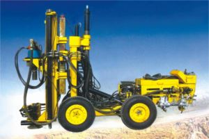 Diesel Trackless Underground Mining DTH Drill Rig pictures & photos