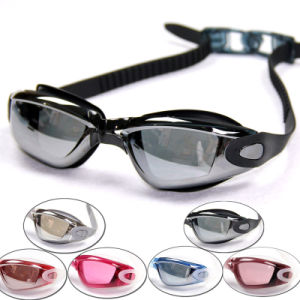2015 Capable Silicone Rubber Swim Spectacles with PC Lens pictures & photos