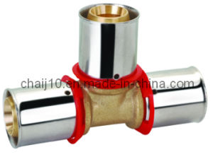 Triple Female Tee Brass Pipe Fitting Clamping Fittings pictures & photos