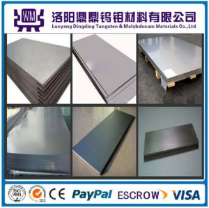 99.95% Pure Hot-Rolled Polished Molybdenum Sheets/Plate for Heat Shield with Factory Price pictures & photos