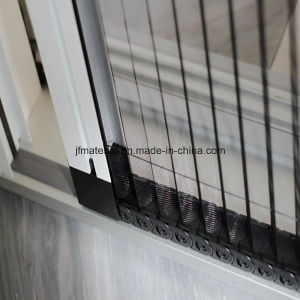 Gray Color Fiberglass Plisse Insect Screen Pleated Window Screen pictures & photos
