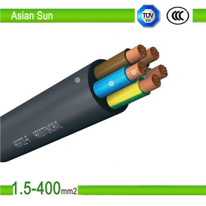 0.6/1kv Cu Condctor PVC Flexible Electric Power Cable, Electric Wire pictures & photos