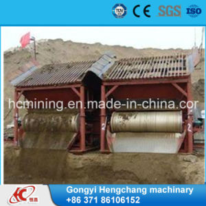 Permanent Fine Ore Dry Drum Magnetic Separator Machine pictures & photos