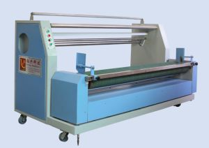 Automatic Edge Aligning Fabric Rolling Machine pictures & photos
