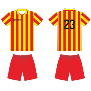 Persoanlised Boys and Girls Sublimation Soccer Uniform for Junior Team pictures & photos