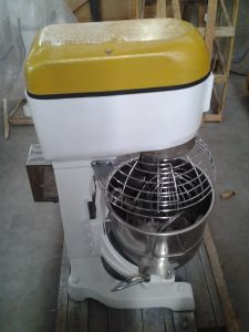 20 Liters Bakery Planetary Cake Mixer in Kitchen Equipment with Safety Guard (YL-20I) pictures & photos