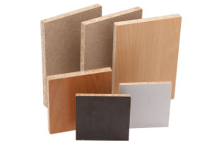 with Melamine Film Faced Particle Board pictures & photos
