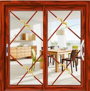Competitive Price Australia Standard Aluminum Double Glass Sliding Door pictures & photos