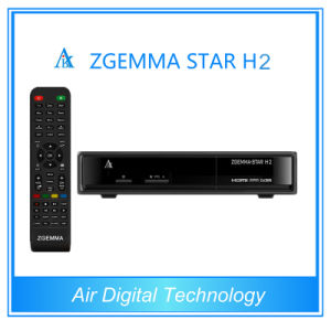 2015 Newest Zgemma - Star H2 with Twin Tuner DVB-S2+DVB-T2/T/C Satellite Receiver pictures & photos