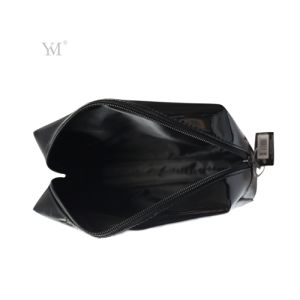OEM Fashion High Quality Ladies PVC Leather Cosmetic Makeup Bag pictures & photos