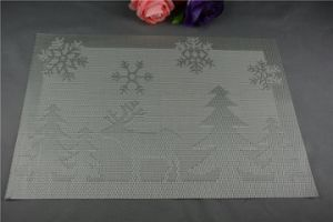 Factory Direct Sales All Kinds of Plastic Christmas PVC Woven Mat pictures & photos