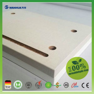 Wanhua Excellent Grade Veneered MDF for Furniture Making pictures & photos