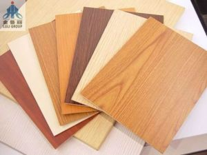 Colorful Paper Overlaid Plywood for Decoration in Sale! pictures & photos