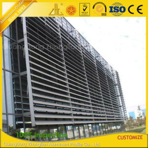 Customized PVDF Powder Coated Outdoor Oval Aluminium Extrusion Louver pictures & photos