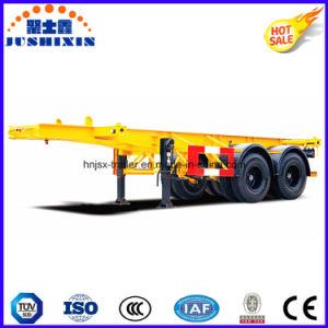 2 Axles 20/25/30 Tons 20FT Skeleton Container Trailer for Sale pictures & photos