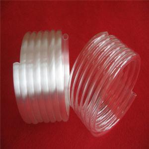 Opaque Spiral Quartz Tube Quartz Glass Tube pictures & photos