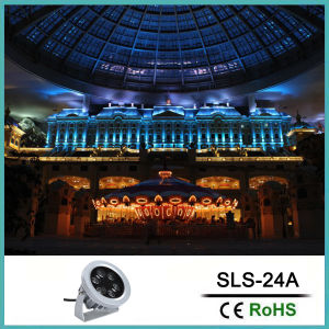 IP65 Waterproof 12W DC24V Mini LED Outdoor Spot Light pictures & photos
