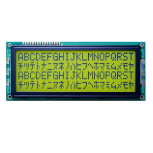 Monochrome High Resolution 2004 COB Character LCD Display pictures & photos