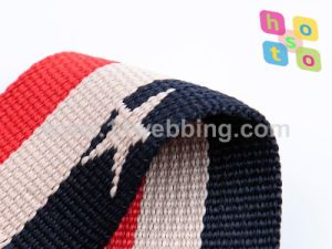 Jacquard Woven Polyester Nylon Webbing for Belt, Bag Shoulder Straps and Garment Accessories pictures & photos
