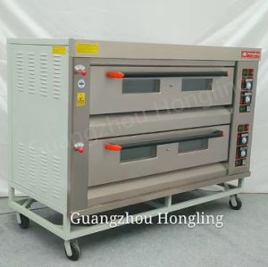 Commercial Bakery Equipment Gas Deck Oven in Factory Price pictures & photos