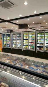 Upright Glass Door Refrigerator for Beverage Cooler pictures & photos