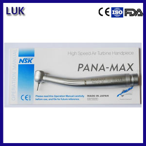 Hot Sale NSK Pana Max Standard Dental Handpiece with Push Button pictures & photos