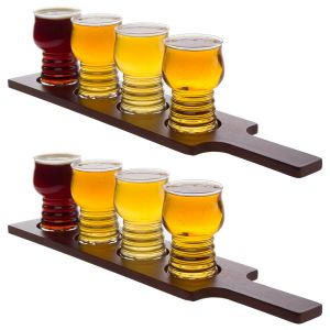 Custom Wood Beer Tasting Paddle Trays Unique Beer Flight Paddles pictures & photos