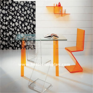 Transparent Acrylic Chair with Metal Legs pictures & photos