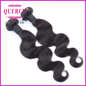 100% Human Hair Extension 8A Brazilian Virgin Remy Body Wave Human Hair Weft (W-078) pictures & photos