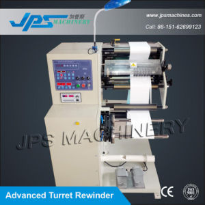 Turret Rewider Self-Adhesive Blank Label and Barcode Label Slitter Machine pictures & photos