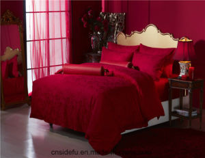 Direct Factory Price King Size Luxury Bridal Bedding Set pictures & photos
