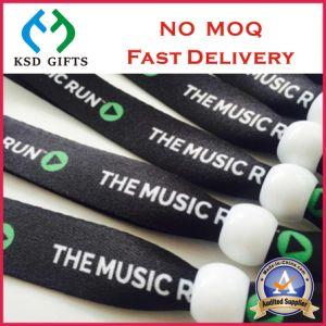 Custom Print Tubular Polyester Event Wrist Band (KSD-1143) pictures & photos