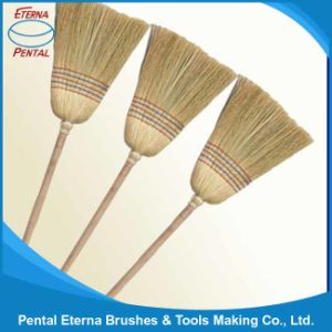 Household Corn Broom with Wooden Handle pictures & photos