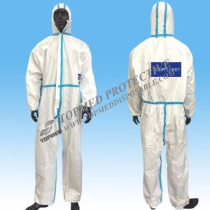 Nonwoven Protective Clothing Disposable Boiler Suit Lightweight Overall pictures & photos