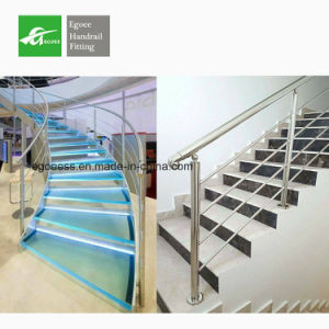 2017 Elegant Interior Stainless Steel Stair Handrail Railing pictures & photos
