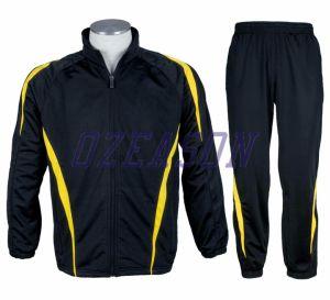 Factory Wholesale Cheap Sport Plain Tracksuit Set (TJ006) pictures & photos