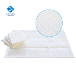 60*60cm Export Sanitary Products Biodegradable Waterproof Pet Pad for Puppy Training (UP660A) pictures & photos
