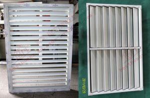 UPVC Adjustable and Fixed Plantation Shutter Window (BHP-SCW02) pictures & photos